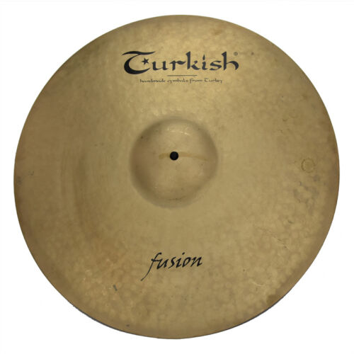 "TURKISH CYMBALS Becken 20"" Ride Heavy Fusion bekken cymbale cymbal 2711g"