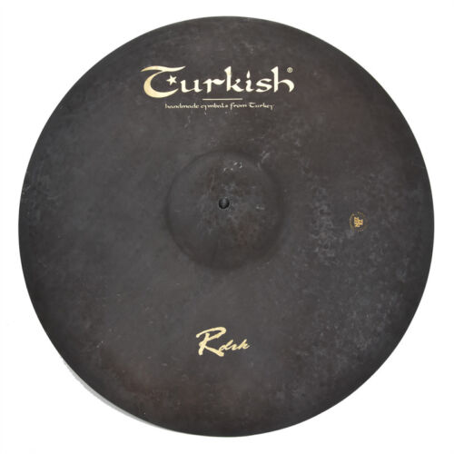 "TURKISH CYMBALS Becken 22"" Ride Rock RawDark bekken cymbale cymbal 3667g"