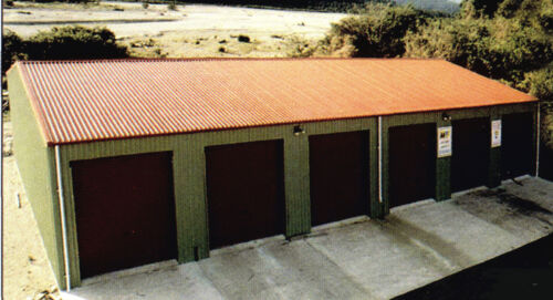 STEEL INSULATED 6-CAR GARAGE - METAL BUILDING - Shop KIT  <br/> All New Materials- Any Colors -FREE SHIPPING extended !