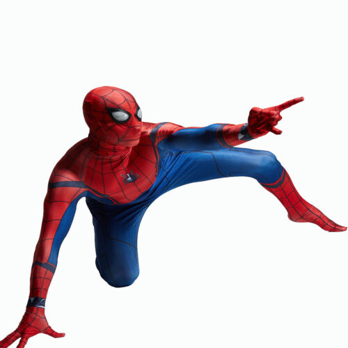 Spider-Man Homecoming Cosplay Costume Man Halloween Party Bodysuit