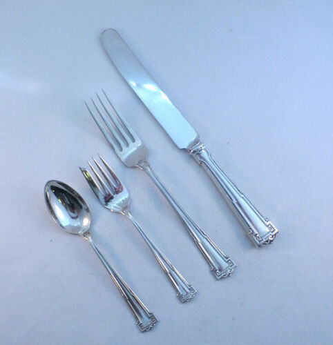 DAUPHINE-WALLACE 4PC STERLING DINNER PLACE SETTING(S)