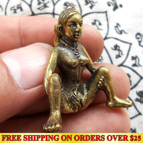Thai Amulet E-Pher Woman Erotic Miniature Magic Holy Lucky Love Charm Talisman