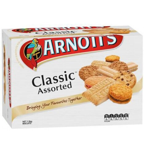 Arnotts Biscuits Classic Assorted 1.5kg