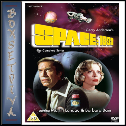 SPACE 1999 - THE COMPLETE SERIES 1 & 2  **BRAND NEW DVD