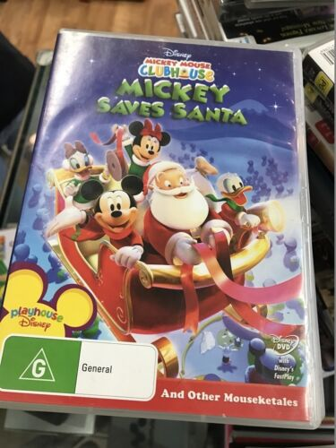 Mickey Mouse Clubhouse - Mickey Saves Santa... DVD
