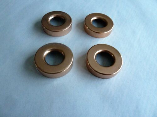 "FOUR LARGE 1 1/2"" X 1"" COPPER LIGHTNING ROD BALL CAPS"