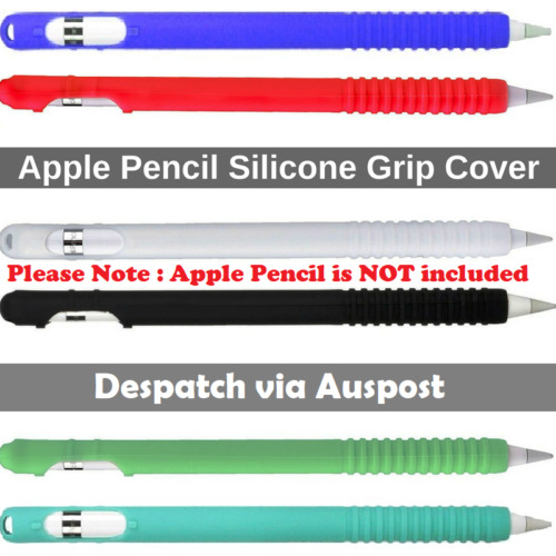 Silicone Rubber Cover Sleeve Grip Case For Apple iPad Pro Pencil 1st Generation