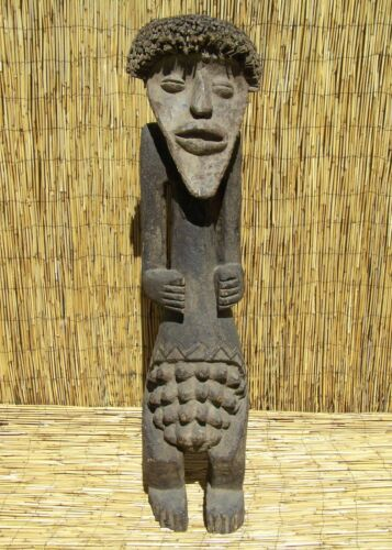 "African Mambila Figure From Cameroon 49"" Tall"