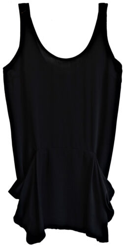 Maglia Vestito Donna Nero Denny Rose Jersey Dress Woman Black