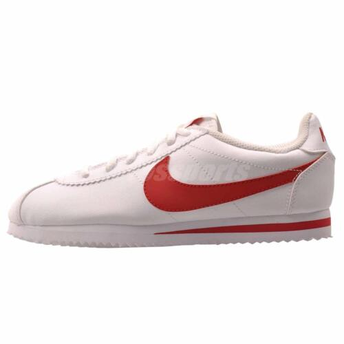 N i k e Cortez GS Running Kids Youth Shoes White Red 749482-103