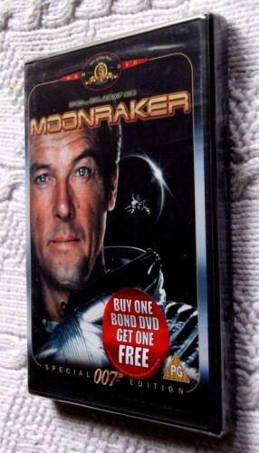 MOONRAKER - SPECIAL 007 EDITION (DVD) REGION-2, NEW, FREE POST WITHIN AUSTRALIA
