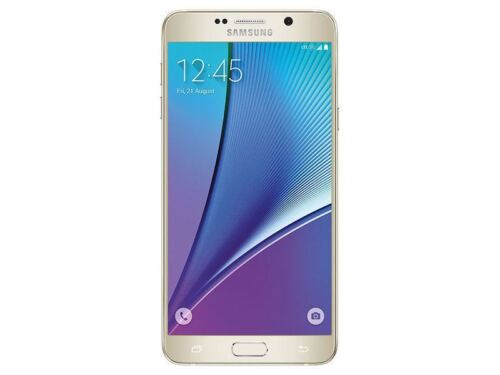 Samsung Galaxy Note 5 Note5 SM-N920T 32GB - Gold - GSM Unlocked T-Mobile AT&T B