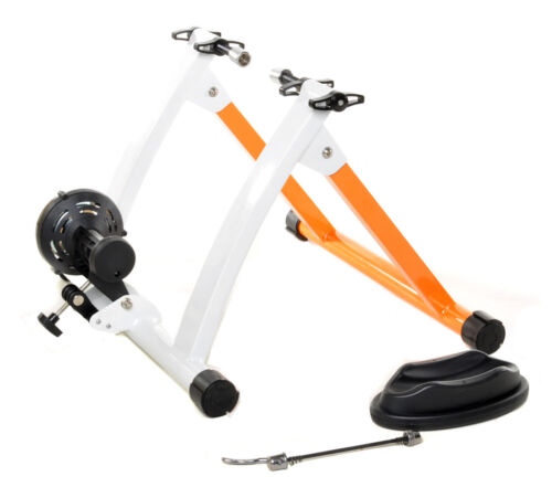 Conquer Indoor Bike Trainer Portable Exercise Bicycle Magnetic Stand <br/> Fast Shipping - Great Customer Service - Lowest Price!