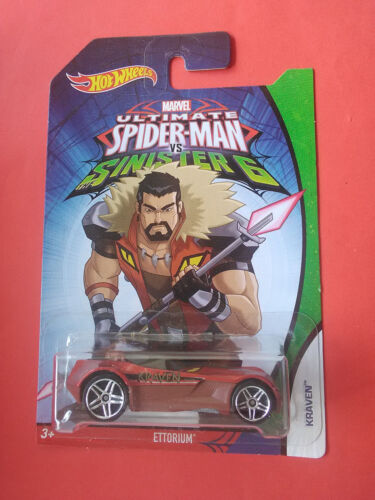 HOT WHEELS - MARVEL - SPIDER-MAN - SINISTER 6 - ETTORIUM - VOITURE - REF 3562