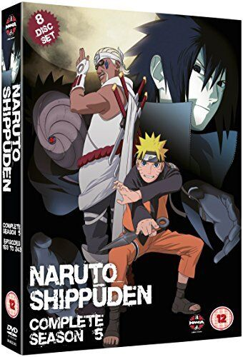 Naruto Shippuden Complete Series 5 Box Set  Episodes 193-244  [DVD]