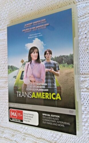 Transamerica -DVD- SPECIAL EDITION, R-4, LIKE NEW, FREE POST WITHIN AUSTRALIA
