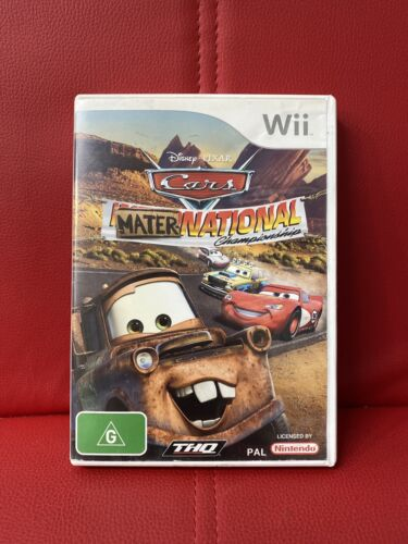 Cars Mater-National Championship Nintendo Wii PAL