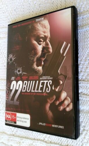 22 Bullets (DVD, 2011) REGION-4, LIKE NEW, FREE SHIPPING WITHIN AUSTRALIA