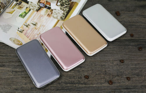 50000mAh - NEW - Scratched Case - LCD Power Bank External 2 USB Battery Charger