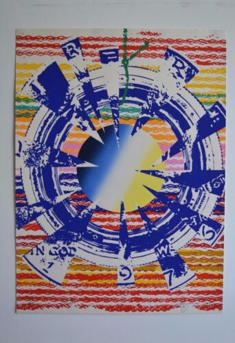 REDUCED! James Rosenquist - Miles - Signed Screenprint W/Poichoir 42/200