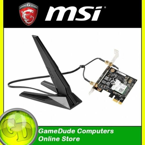MSI HERALD AC Wireless Dual Band & Bluetooth PCI Express Adapter 867Mbps