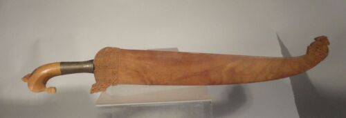 Antique Vintage South East Asian Moro Barong Philippines Borneo Indonesia Sword