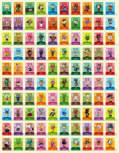 ANIMAL CROSSING AMIIBO SERIES 1 CARDS # 1-100 - PICK FROM THE LIST! NEW HORIZONS