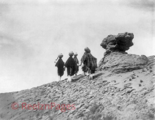 New Art Print 1905 Edward Curtis Photo Acoma Water Carriers 11X17