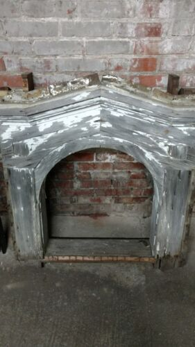 Antique Arched Window Frame