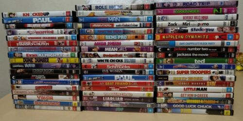 COMEDY MOVIES on DVD - Region 4 Australia, Funny Film Collection to choose from