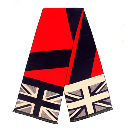 Heritage Traditions Womens Mens Fashion Outdoor Double British Union Jack Scarf