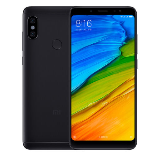 Xiaomi Redmi Note 5 Smartphone Android 8.1 Snapdragon 636 Octa Core GPS Touch ID