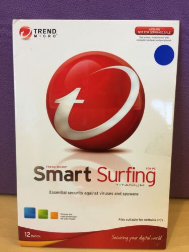 Smart Surfing FOR PC Essential security against viruses and spyware (1PC 1YEAR)