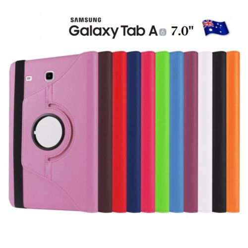 360 Rotate Leather Flip Case For Samsung Galaxy Tab A6 7.0 2016 T280 T285 Cover