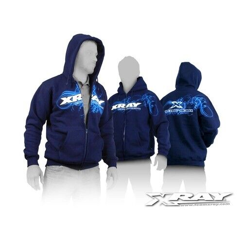 XRAY SWEATER HOODED WITH ZIPPE - XY395600M
