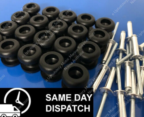 Ute Rope Buttons S308B 20 Pack Saint Bungee Boat Tarp Knobs POPS