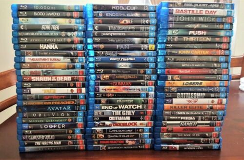 BLU RAYS: ACTION / HORROR / SCI FI: Pick From Lots of Australian Region B Movies