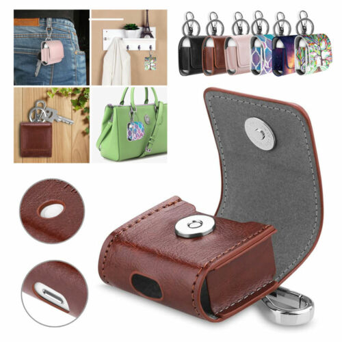 Premium Leather Protective Shockproof Case Cover with Keychain For Apple AirPods