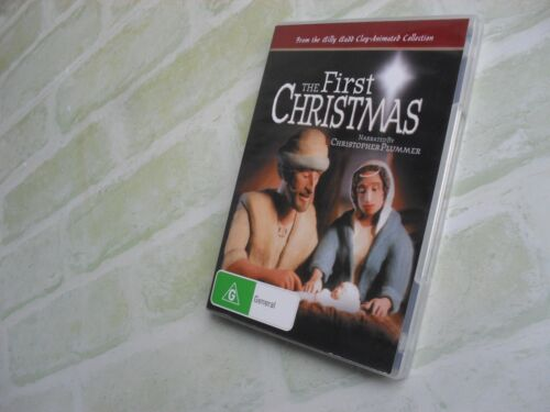 THE FIRST CHRISTMAS - CHRISTOPHER PLUMMER - ANIMATED - REGION 4 PAL DVD