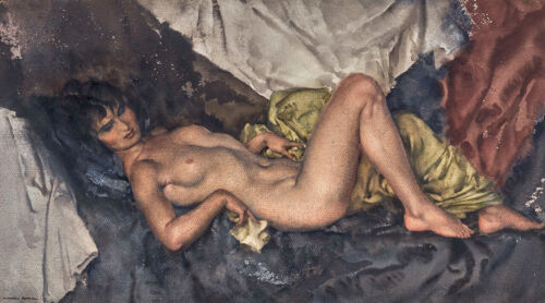 Cecilia by William Russell Flint Premium Giclee Print