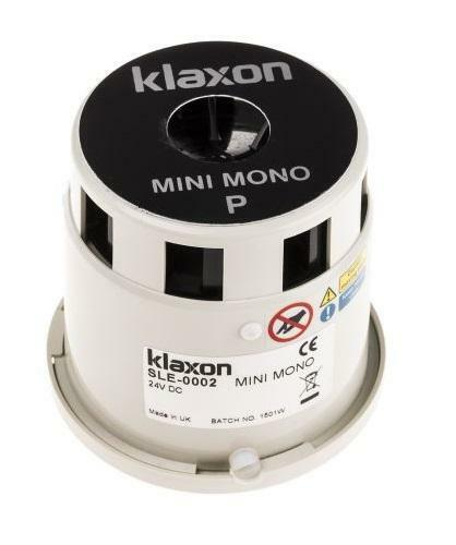 NEW Klaxon Mini Mono P Motorised Siren