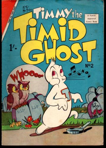 Timmy the Timid Ghost 2    Australian edition  1957