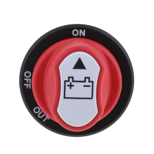 Battery Disconnect Isolator Master Cut off Switch for Car RV Marine Boat