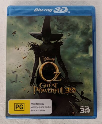 OZ THE GREAT AND THE POWERFUL 3D Blu-ray Region A B C oz seller Disney