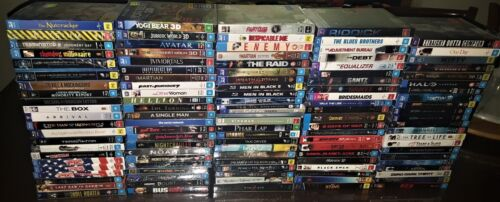 *NEW SEALED* BLU RAY MOVIES Cardboard Slipcases/Digibooks/OOP/Limited/Rare/Aus