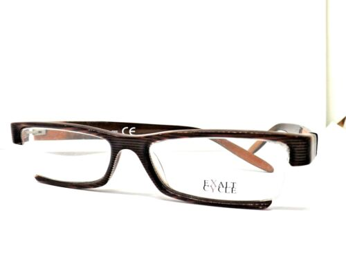 EXALT CYCLE EXNATI OCCHIALI MADE IN ITALY FRAME LUNETTES BRILLE GLASSES marrone