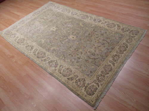 """4x6 Amazing Afghan-Refugee """"Antique Reproduction"""" Vegetable Dye Wool RUG 580573"""