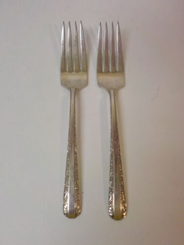 Pair Towle CANDLELIGHT Sterling Silver Luncheon / Place Forks, 70 grams