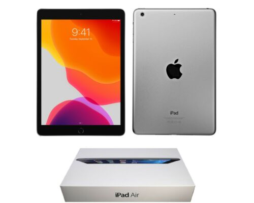 Apple iPad 3rd Generation 9.7-inch, 64GB, Wi-Fi Only, Black, and Bundle Included