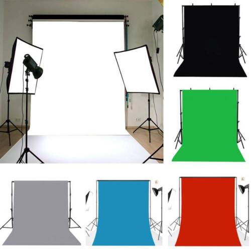 1.6x2.5M / 5x7ft Photography Studio Non-woven Background Screen colors Backdrop